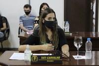 Vereadora Tati Carvalho apresenta pré-projeto para cadastramento de animais soltos em Canoinhas