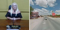 Vereadora Telma Bley pede lombadas e faixa de pedestre na Avenida Expedicionários esquina com a Rua Teodoro Humenhuk