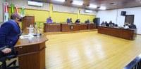 Vereadores de Canoinhas parabenizam Doadores de Sangue da ADOSAREC durante Sessão Ordinária