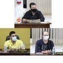 Vereadores Maurício, Willian e Osmar fazem pedidos ao Prefeito e aos Secretários Municipais