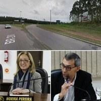 Vereadores pedem melhorias no trevo de acesso da BR 280 com BR 116 em Mafra
