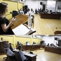 Vereadores recebem visita da nova Diretora de Campus da UnC de Canoinhas