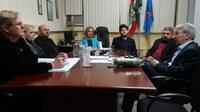 Vereadores se reúnem com diretor geral da Aris e fomentam a diminuição de tarifa de água e esgoto
