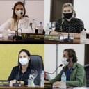 Vereadores, Tati, Juliana, Zenilda e Homer, apresentam indicação de testes rápidos de covid-19 para funcionários do comércio local