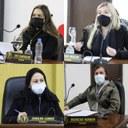Vereadores Tati, Juliana, Zenilda e Homer apresentam MOÇÃO DE APOIO em prol dos enfermeiros durante Sessão Ordinária