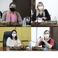 Vereadores Tati, Juliana, Zenilda e Homer, durante Sessão de terça-feira protocolaram Requerimentos endereçados a Prefeitura