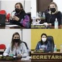 Vereadores Tati, Juliana, Zenilda e Marcos apresentam relatório do Gabinete Móvel e outras reivindicações durante sessão