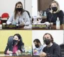 Vereadores Tati, Juliana, Zenilda e Marcos, durante sessão solicitaram os seguintes assuntos através de Requerimentos