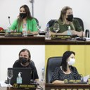 Vereadores Tati, Juliana, Zenilda, Marcos buscam informações sobre o Setor de Zoonoses de Canoinhas