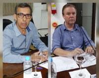 Vereadores Wilmar e Edmilson solicitam recuperação de estradas no interior e calçamento no centro do município