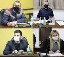 Vereadores Wilmar, Osmar, Juliana e Willian, fazem solicitações ao Prefeito e Secretários durante sessão